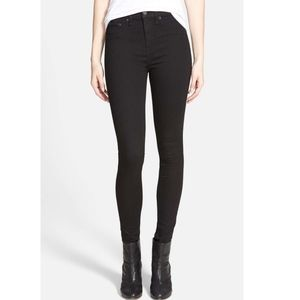 RAG & BONE/JEAN High Waist Leggings in Black